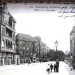 Stierstraße mit Blick auf die Fregestraße (1911)