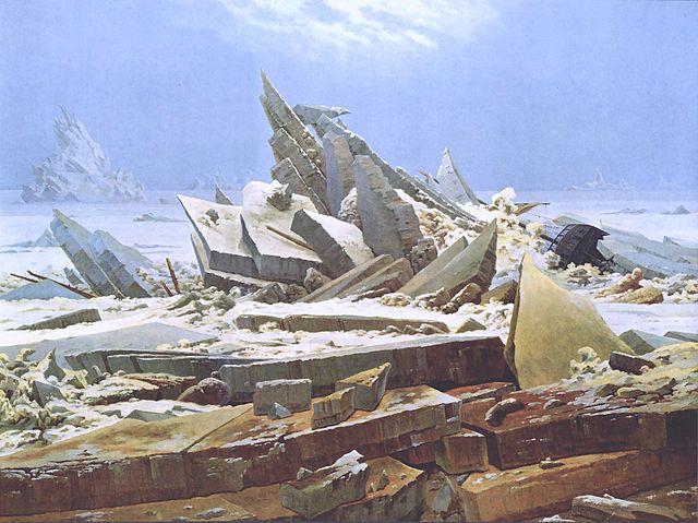 Caspar David Friedrich: Das Eismeer (1823-1824)