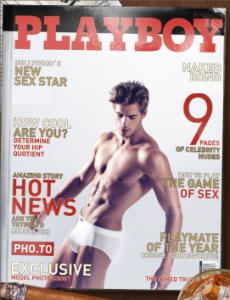 Bearbeitet mit: http://funny.pho.to/de/playboy-magazin-cover/# Bildquelle: http://www.hotguyschat.net/post/140449897594/giovanni-bonamy#_=_